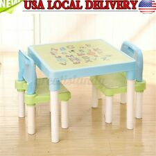 Children Table Chair Set Study Education Play Indoor Furniture Kids Toddlers Toy