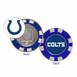 Indianapolis Colts Poker Chip Golf Ball Marker