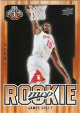 JAMES GIST 2008-09 UPPER DECK MVP ROOKIE CARD #227