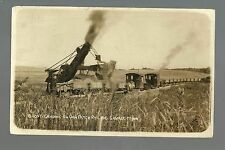 Savage MINNESOTA RP 1911 CONSTRUCTION Railroad DAN PATCH Steam Shovel TRAIN
