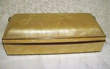 Antique Bakelite Box Hinged with wood lined bottom