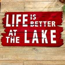 Lake Life Welcome Mat For Front Door Outdoor Rubber Floor Mat Home Porch Decor