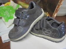 Sneakers scarpe Geox bambina taglia 23 grigio