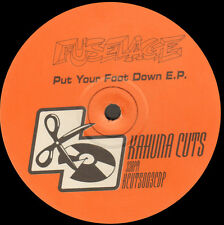 FUSELAGE - Put Your Foot Stop and go EP - 1998 Kahuna Coupe Uk