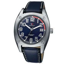 Viceroy Spain Boy's 'comunion 10' Blue/ Black Leather Band Date Watch