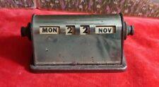 Vintage Park Sherman Brass Perpetual Desk Calendar