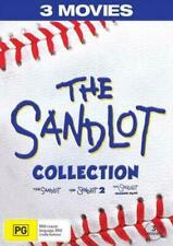 The Sandlot Collection DVD 3 Movies 2 Disc Set Region 4