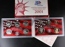 2001 SILVER US Proof Set