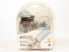 Nokya H8 Cosmic White Headlight Pro Halogen Light Bulbs Twin Pack 5000K NEW