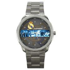 New Real Madrid CF La Liga Spain Club sport metal watch free shipping