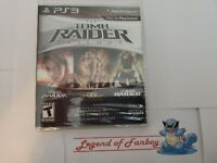 Tomb Raider Trilogy - ps3 * New * Legend Anniversary Underworld - PlayStation 3