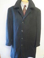 Genuine Ralph Lauren Black Trenchcoat Raincoat Coat Size XL 48 R Euro 58 R