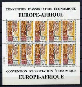 29619) HAUTE VOLTA 1969 MNH** Nuovi** EUROPE-AFRIQUE