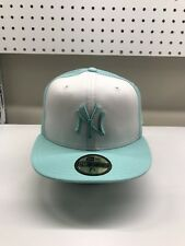 New Era MLB New York Yankees Tiffany Blue Brand New Unworn 59fifty Fitted 7 1/2