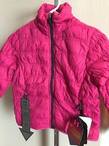 New Girls Under Armour Cold Gear Jacket - Water Resistant - Youth Large