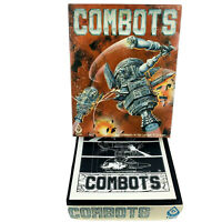 Vintage FASA Combots Space Combat Robots Game #1603 with Miniatures 1983