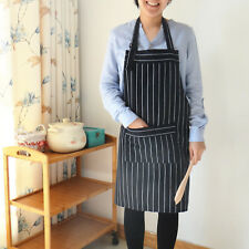 100% Cotton waist Bib Apron Unisex Professional Barista chef waitress Uniforms