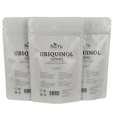 Pure Ubiquinol 100mg Softgels (Bioavailable CoQ10) Enhanced Absorption Formula