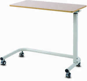 Overbed Table - Gas Lift with Wide C Base Frame
