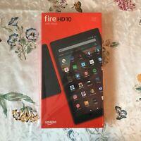 "New Sealed Amazon Fire HD 10 Tablet, 10.1"" 32GB, 9th Gen., 2019 release, Black"