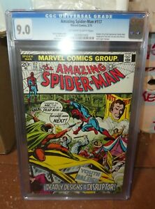 Marvel comics Amazing Spiderman 117 CGC 9.0  1973
