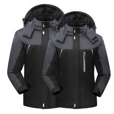 Men's Winter Warm Waterproof Outdoor Coat Fleece Lined Ski Suit Jacket Windproof
