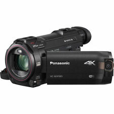 Panasonic HC-WXF991 -K 4K Ultra HD Camcorder with WiFi Built-in Multi Scene Twin