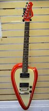 American Showster The Biker Red Electric Guitar w/ Box Free Shipping