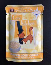 8 x Weruva CATS IN THE KITCHEN Pumpkin Lickin Chicken 3 oz Pouches CAT FOOD