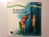 RARE 33T LE DISQUE ENCHANTE LE GRAND FUSIQUIN // DEDICACE JACQUES LASRY
