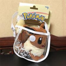 TOMY Pokemon Monster 14CM Eevee Kids High Quality Plush Doll Toy