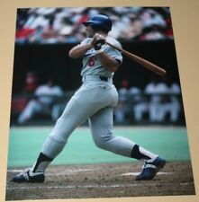 Steve Garvey Los Angeles Dodgers unsigned color 8x10 photo MLB