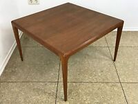 60er 70er Jahre Teak Coffee Table by Johannes Andersen for Silkeborg Danish 60s