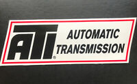 ATI AUTOMATIC TRANSMISSION Decal STICKER DRAG RACING NASCAR NHRA -Street OuTlaws