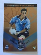 2010 NRL Past NSW State Of Origin Legends Football Card #198 Andrew Johns