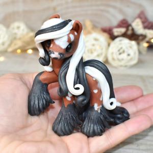 Prince Caspian - Handmade polymer clay pony