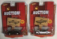 Johnny Lightning Auction Insanity 2008 lot of 2 69 Coronet R/T 70 AAR Cuda 1/64