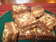 Homemade Dark Chocolate Caramel Pecan Fudge!  1lb for $11.50, 2lbs for $19.00!
