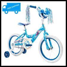 HUFFY Disney Frozen 2 Bike Bicycle Kids Child Training Wheels Basket 16 Inch NEW