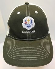 Ahead Ryder Cup 2012 Medinah Club Golf Cap Hat Green White StrapBack Men OSFA