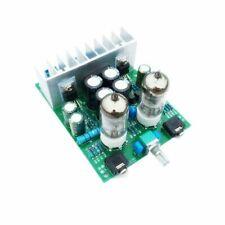 Amplificatore HI-FI stereo ibrido 2x30 W, pre valvolare, finale a chip in kit