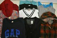 Wholesale Bulk Lot of 10 Women's Size XL Long Sleeve Casual Sweaters Tops