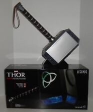 "THOR ""MJOLNIR ELECTRONIC HAMMER"" Full Size Prop Replica Marvel Hasbro NEW IN BOX"