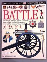 Eyewitness:  Battle by Dr. Richard Holmes (PB, 2000) New! FREE SHIP