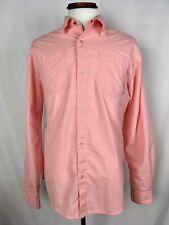 HURLEY Men's Shirt  Long Sleeve Button Down Size L