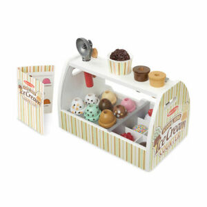 Melissa and Doug Scoop and Serve Ice cream Counter   Pretend Play