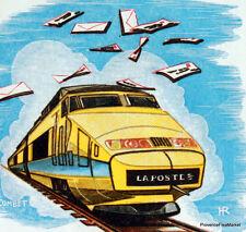 Yt 2334 TGV PARIS LYON   FRANCE  FDC  ENVELOPPE PREMIER JOUR