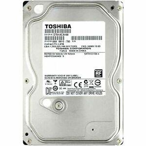 "Toshiba 1TB   3.5""   7200RPM   SATA 3   (6Gb/s) Internal Hard Drive for Desktop"