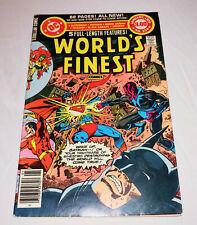 WORLD'S FINEST COMICS 254 newsstand edition superman batman green lantern flash