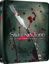 SWEENEY TOD THE DEMON BARBER OF FLEET STREET - Blu-Ray Steelbook -